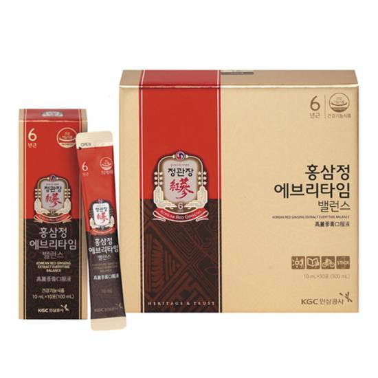 Nước hồng sâm KGC Hàn Quốc EveryTime New 30 gói cao cấp