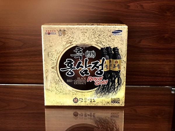 Cao Hắc Sâm KangHwa Hàn Quốc hũ sứ 1kg