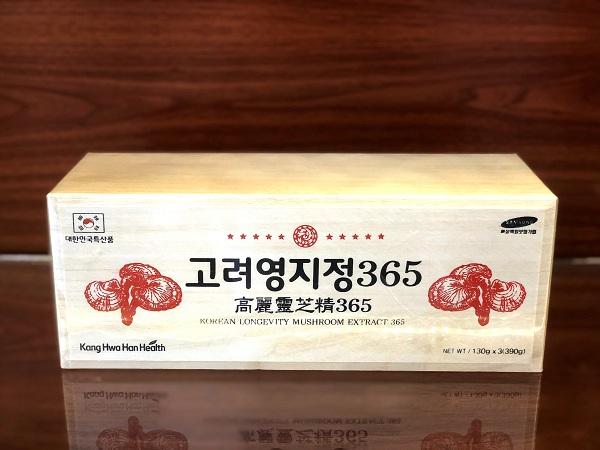 Cao Nấm linh chi 365 KangHwa 3 lọ 130gr