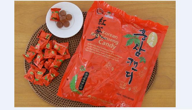 Kẹo hồng sâm Daedong gói 500g