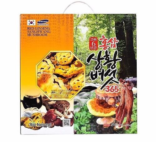 Tinh chất Hồng Sâm Nấm Thượng Hoàng 365 BIO NATURAL