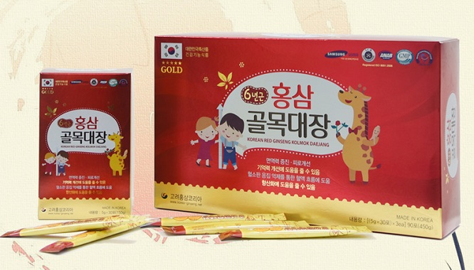 Hồng Sâm Baby Dạng Bột Hanilgreen Pharm – Red Ginseng Kolmok Daejang