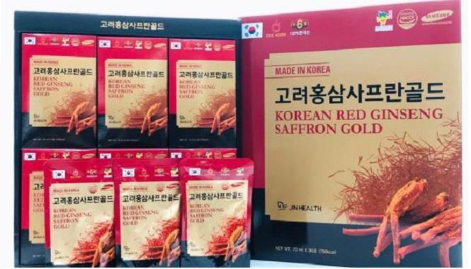 Tinh Chất Hồng Sâm Nhụy Hoa Nghệ Tây - Korean Red Ginseng Saffron Gold
